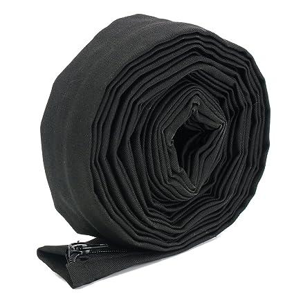 KUNSE 23 Pies De Largo De 4 inchs De Ancho Negro TIG Soldadura Antorcha Cable Tapa