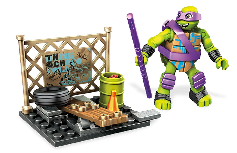 Mega DPF 61 - Mattel Mega Bloks - Ninja Turtles ...
