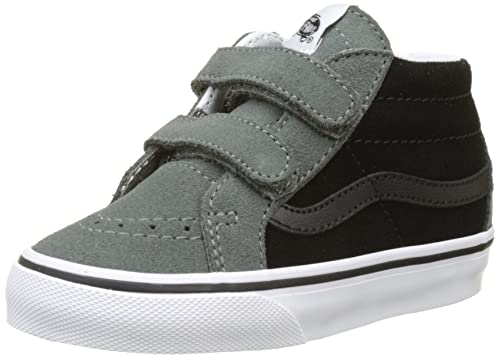 Vans Sk8-mid Reissue V, Zapatillas de Entrenamiento para Bebés, Negro (Castor Gray/black2-tone), 21 EU: Amazon.es: Zapatos y complementos