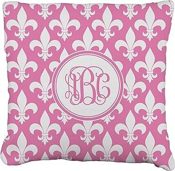 Amazon.com: Fleur de Lis Burlap funda de almohada ...