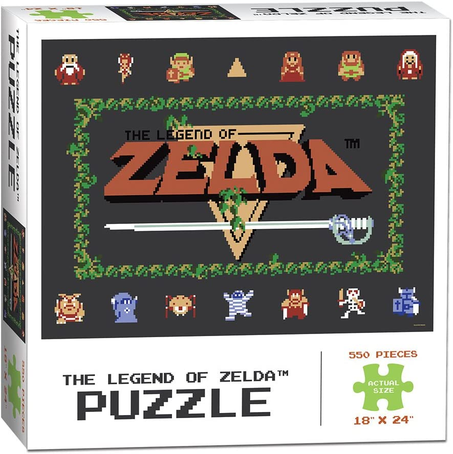 The Legend of Zelda Classic 550 Piece Puzzle: Amazon.es: Juguetes y juegos