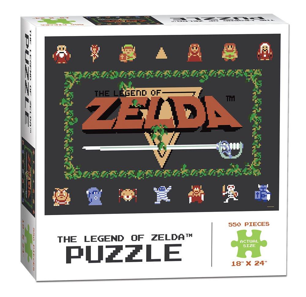 USAopoly Legend of Zelda Classic Puzzle 550 Piece PZ005-462 Accessory Consumer Accessories