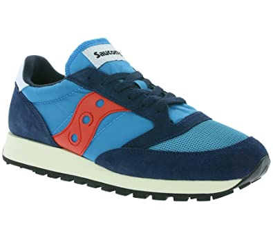 6c9c1d79be92 Saucony Jazz Original Mens Sneaker Blue S70321-5  Amazon.co.uk ...