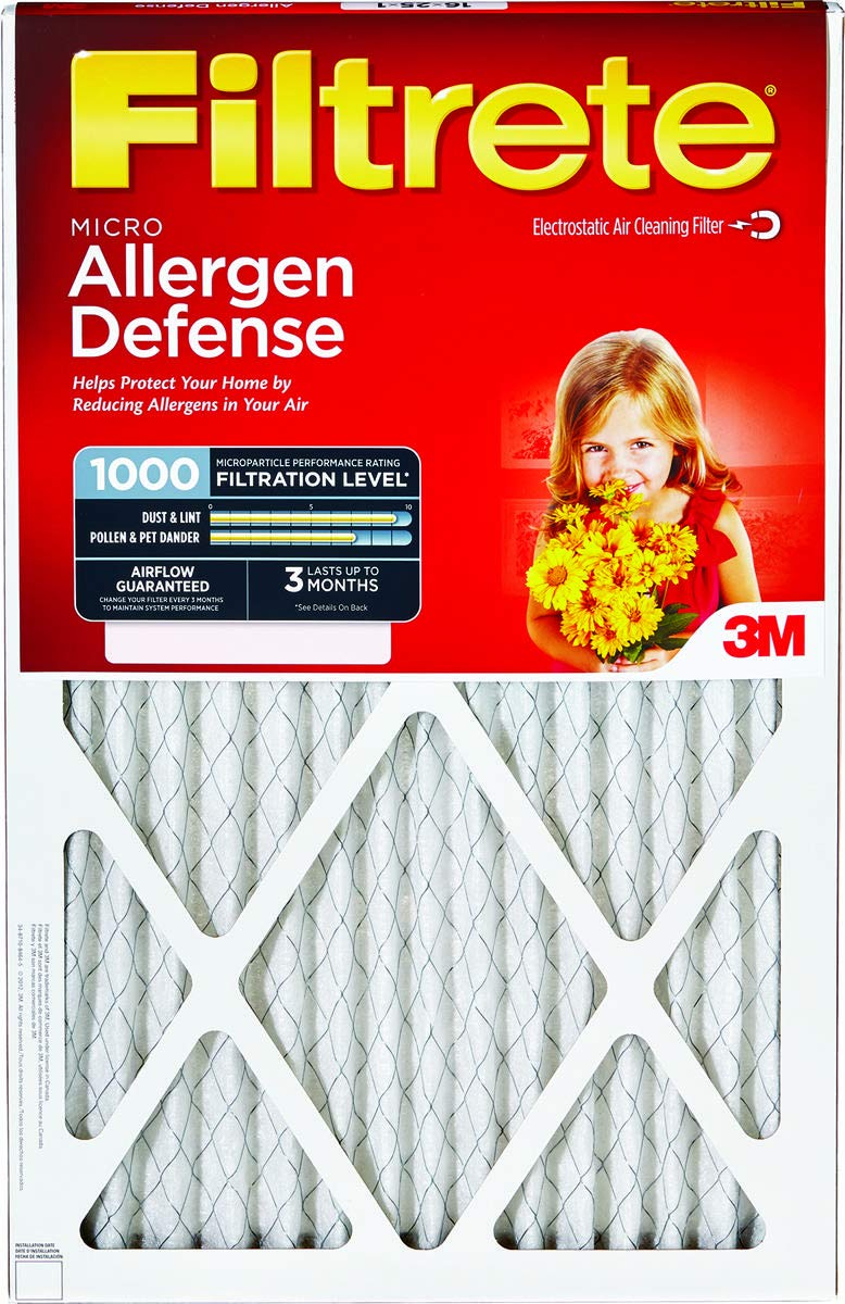 3m Filtrete Air Filter 18 '' X 24 '' X 1 '' Fiberglass Merv 11 by 3M