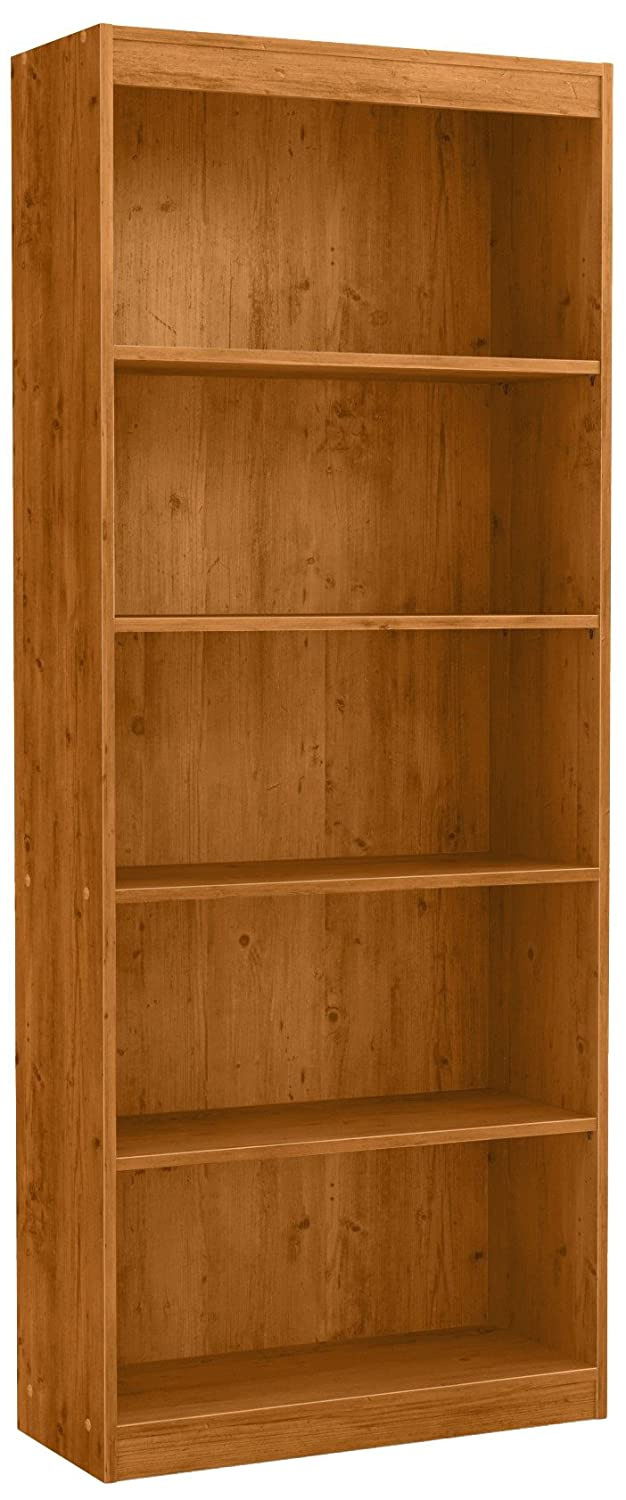 South Shore Axess 5-Shelf Bookcase, Country Pine 10132