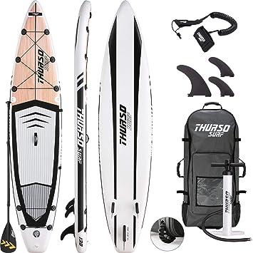 THURSO SURF Tabla de Touring Paddle Sup Inflable Expedition 350 x 76 x 15 cm Construcción