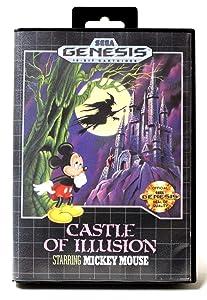 Castle of Illusion starring Mickey Mouse - Sega Genesis