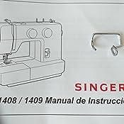 Singer Promise 1408 - Máquina de Coser mecánica, 8 Puntadas, 120 V ...