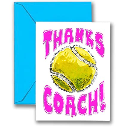 Amazon tennis 3 pack thanks awesome tennis coach pink image unavailable m4hsunfo