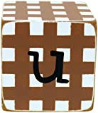 Amazon Price History for:New Arrivals Letter Block U, Chocolate/White
