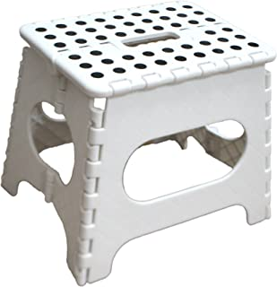 Jeronic 11-Inch Folding Step Stool Holds up to 300 lb  sc 1 st  Amazon.com & Amazon.com: Jeronic 11-Inch Plastic Folding Step Stool Black ... islam-shia.org