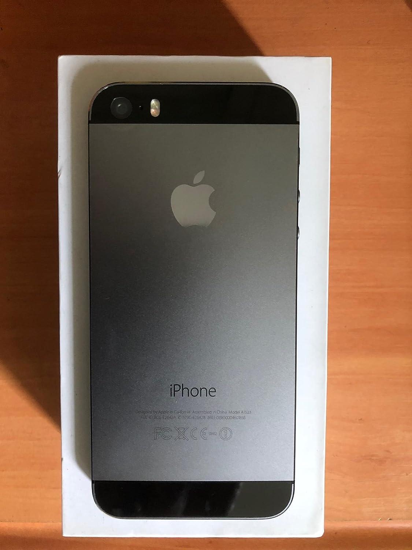 Apple iPhone 5S 32GB negro/gris espacial smartphone como NUEVO en ...