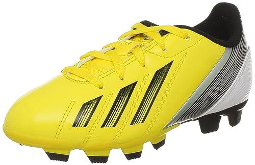 online store 03bdb e4367 adidas PerformanceF5 TRX FG J - Scarpe da Calcio Bambino, Giallo (Giallo  (VIVID