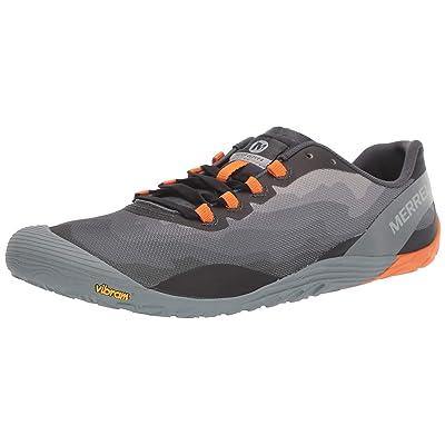 Merrell Men's Vapor Glove 4 Sneaker Granite/Exuberance 11.5 M US   Fashion Sneakers