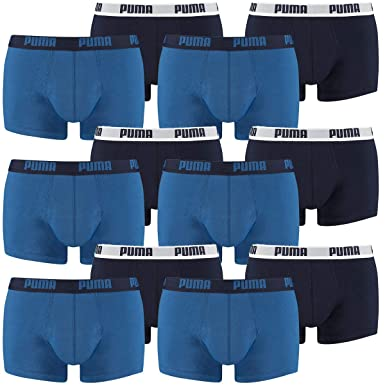 ästhetisches Aussehen am besten billig für die ganze Familie 12 er Pack Puma Short Boxer Boxershorts Men Pant Underwear ...