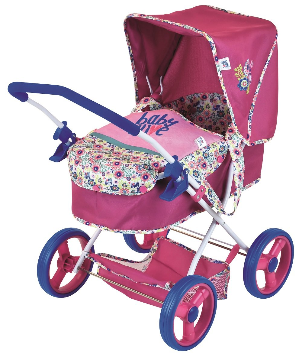 Baby Alive Classic Pram Doll by Baby Alive