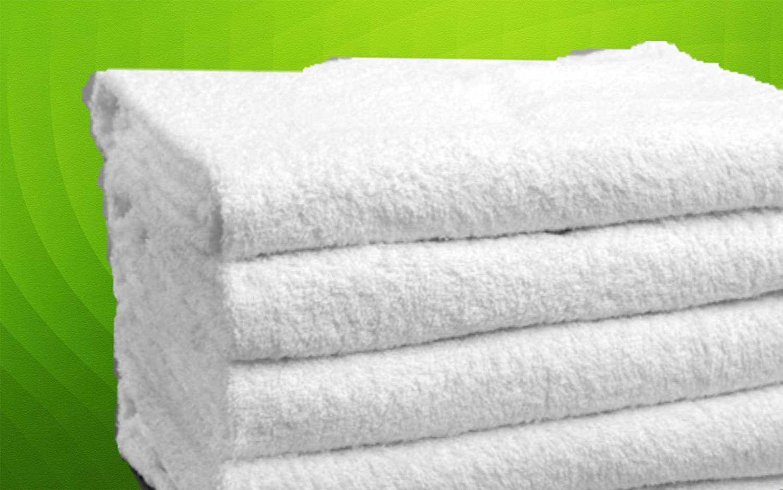 12 toallas de mano blancas para gimnasio, yoga, hostelería, 16 x 26 cm, algodón: Amazon.es: Hogar
