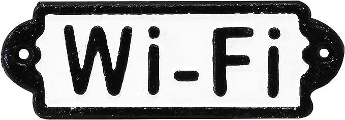 Rolson stationnement Interdit 1/x 25/x 10.5/cm en Fonte Noir//Blanc