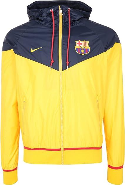 2015–2016 Barcelone Nike Authentic Windrunner Veste (or) L