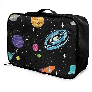 Amazon.com: Space Astronaut - Bolsa de viaje para equipaje o ...
