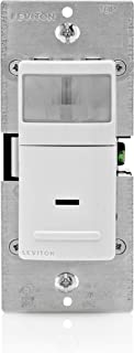 leviton ips15 1lz decora motion sensor in wall switch, auto on, 15a Leviton Dimmer Switch Wiring Diagram leviton ipv15 1lz decora vacancy motion sensor in wall switch, manual on