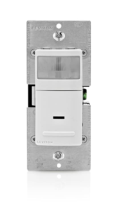leviton ips15 1lz decora motion sensor in wall switch, auto on, 15a Leviton Dimmer Switch Wiring Diagram leviton ips15 1lz decora motion sensor in wall switch, auto on, 15a, single pole or 3 way multi sensor w remote, white ivory light almond motion