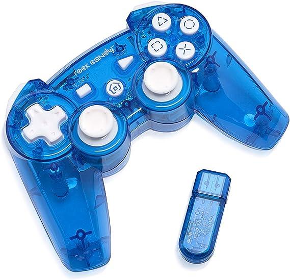 PDP - Mando Wireless Rock Candy, Color Azul (PlayStation 3): Amazon.es: Videojuegos