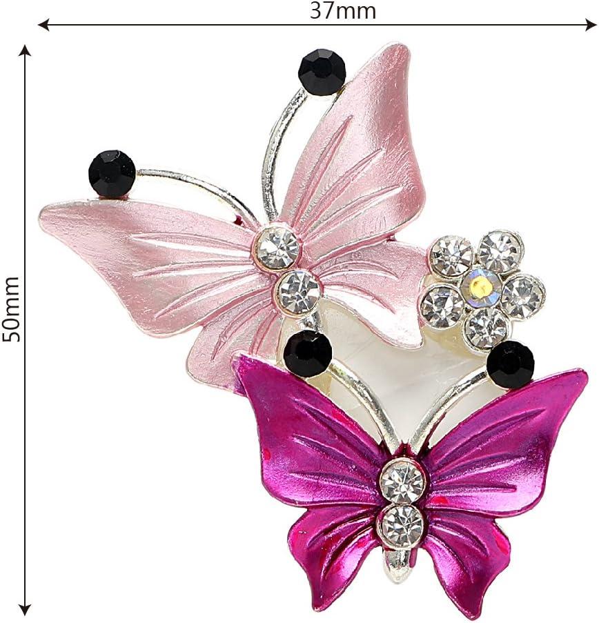 Mignon Voiture Parfum Papillon Accessoires D/éodorant Vent Air Vent Clips D/écorations Parfum pour Voitures