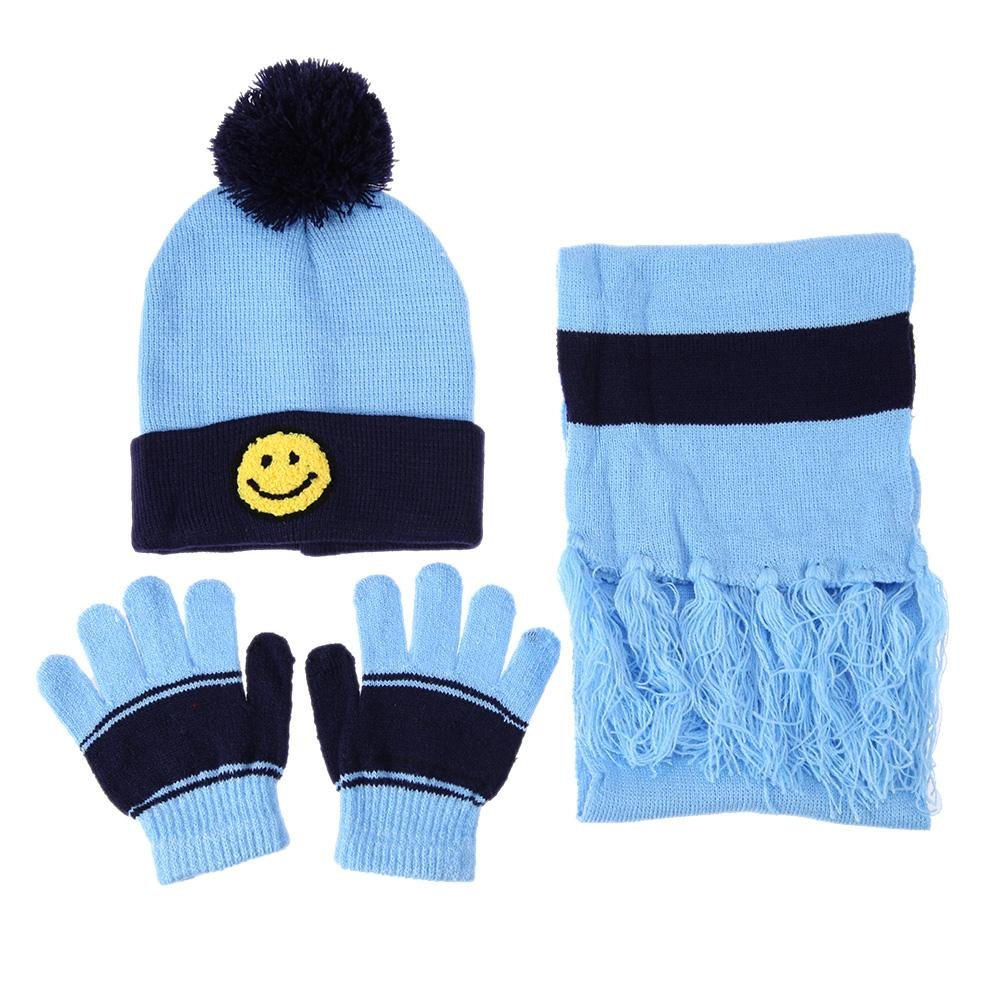 e3c80fe651390 Amazon.com  amazingdeal Children Hat Scarf Gloves Set