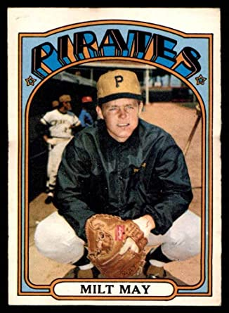 Amazon.com: 1972 O-Pee-Chee # 247 Milt May Pittsburgh Pirates (Baseball  Card) VG Pirates: Collectibles & Fine Art