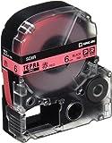 キングジム テープカートリッジ テプラPRO SC6R  カラーラベル