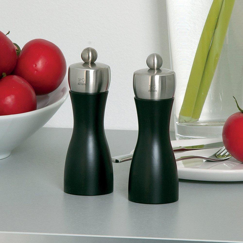 Peugeot Fidji Salzmühle, Edelstahl, Schwarz matt, 5.5 x 5.5 x x x 20 cm B00SFNLW2E Salzmühlen a8d98a
