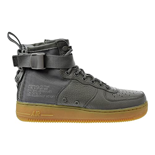 2c3a5f97 Nike W SF AF1 Mid Womens Fashion-Sneakers AA3966-004_9.5 - Dark Stucco/Dark  Stucco-Gum Light Brown: Amazon.co.uk: Shoes & Bags