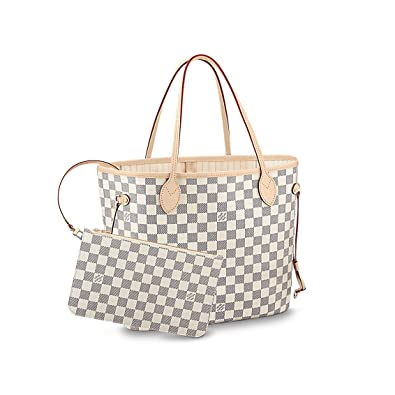 b336b4c4f1b2 Amazon.com  Louis Vuitton Damier Azur Canvas Neverfull MM N41361  Shoes