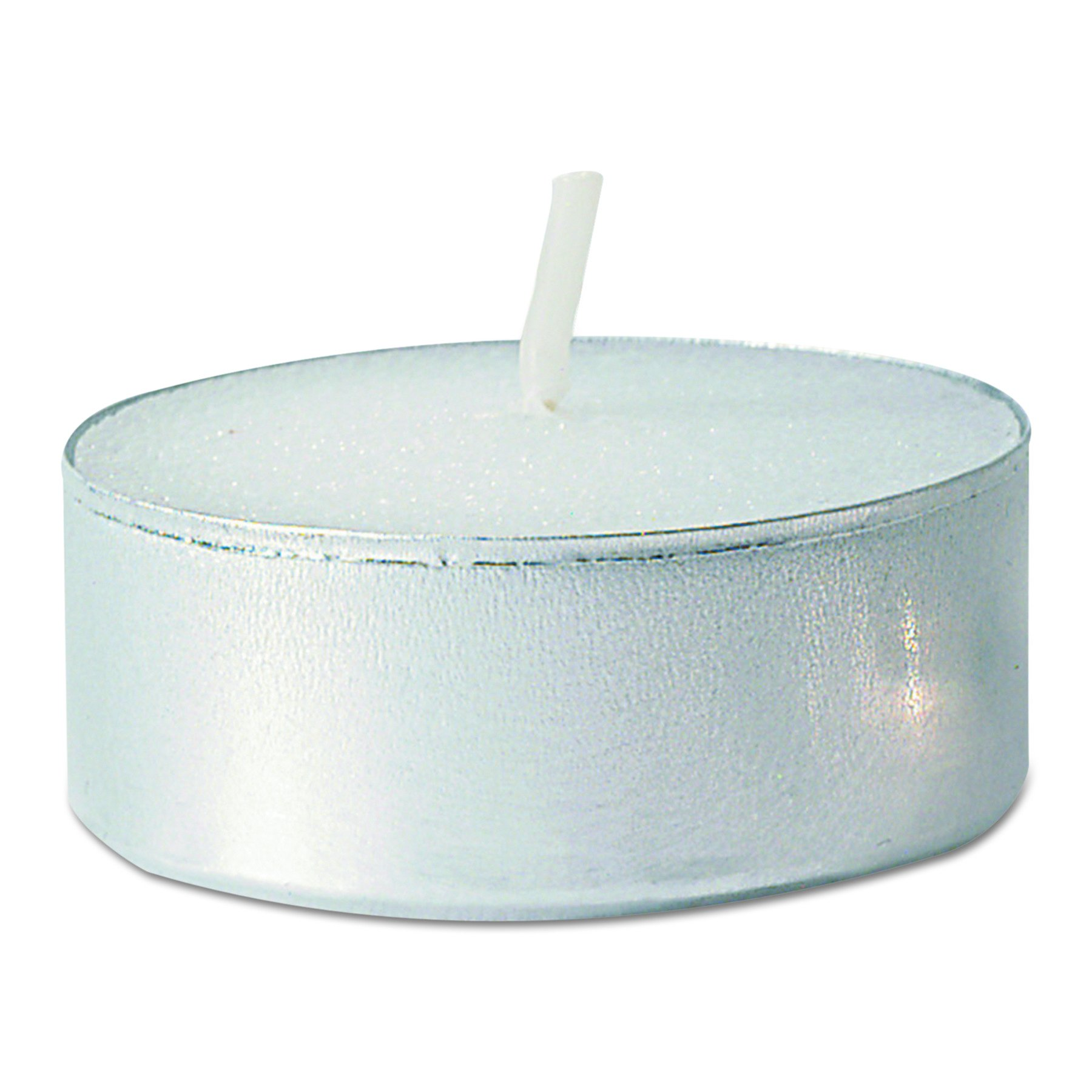 FancyHeat F410 Tealight Candle, 5 Hour Burn, White (Case of 500)