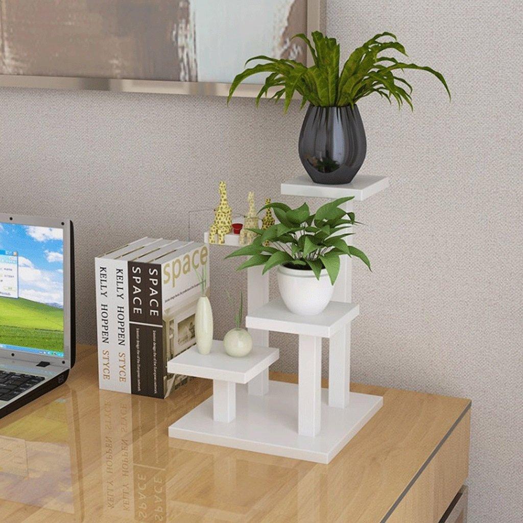 Organizador expandible de Escritorio Soporte Estante de Almacenamiento de de Almacenamiento Pantalla para Office y hogar (Color : Blanco) 26a7ae