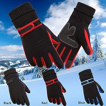 Winwintom Men's Winter Warm Motorcycle Ski Snow Snowboard Gloves