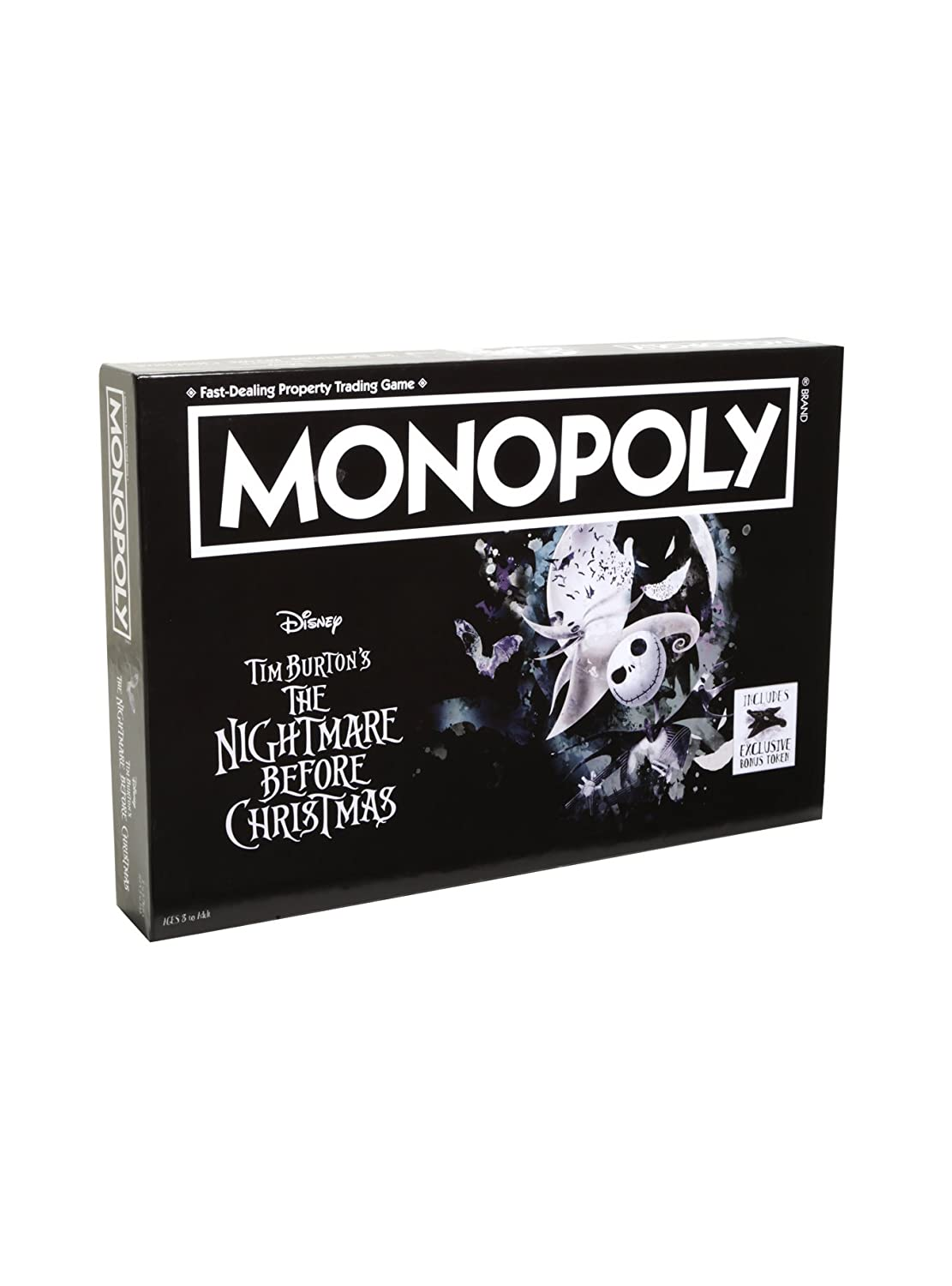 【メーカー公式ショップ】 NEW B0763TMTFH Monopoly Collector's The Nightmare Before Christmas Collector's Edition Edition Board Game B0763TMTFH, atmack*家具 雑貨 事務用品:bd411063 --- fbrasil.com