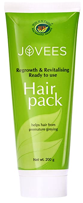 cc9078fd83b Image Unavailable. Image not available for. Color: Jovees Regrowth & Revitalising  Hair Pack 200g