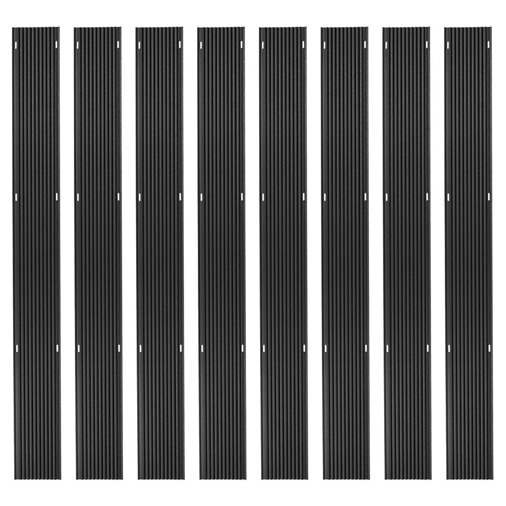 Discount Ramps 40ft. Snowmobile Ski Carbide Glide Protector Guides - (8) 5ft. Sections by Discount Ramps
