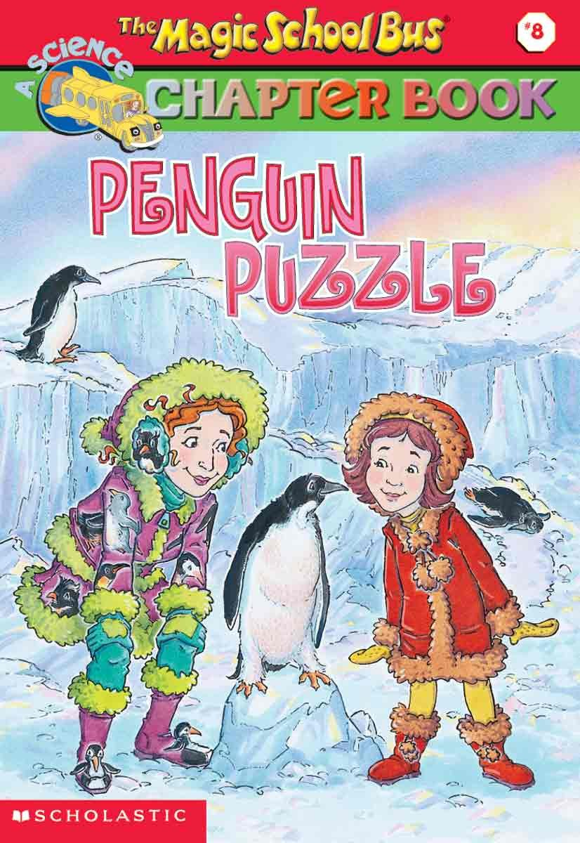 Download Penguin Puzzle (Turtleback School & Library Binding Edition) (The Magic School Bus #8) PDF