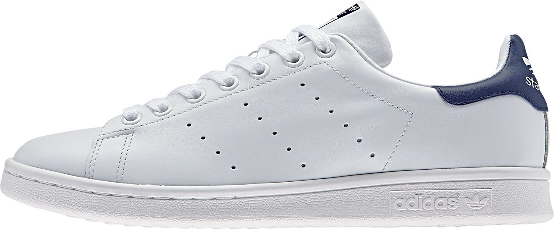 Adidas Originals Stan Smith, Zapatillas de Deporte Unisex Adulto, Blanco (Running White/New Navy), 41 1/3 EU: adidas Originals: Amazon.es: Deportes y aire libre