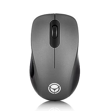 MCHEETA ratón inalámbrico, 2,4 G USB inalámbrico Mice óptico PC Ordenador Ordenador Portatil inalámbrico ratón, 1200 DPI Whisper-Quiet Click compatible ...