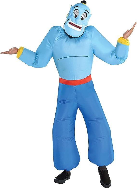 Party City disfraz de genio inflable de Halloween para niños ...