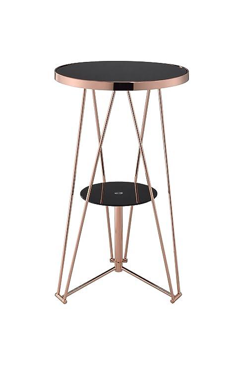 Amazon.com: Acme Muebles Acme 72579 Jarvis mesa alta de bar ...