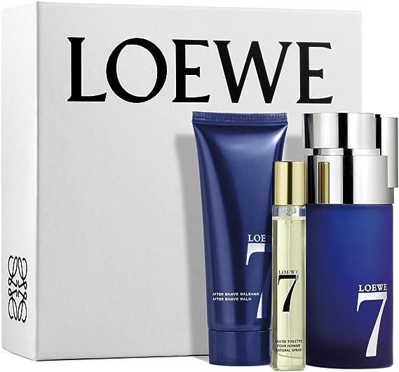 Loewe 7 Eau De Toilette 100 ml + After Shave 75 ml + Mini 15 ml: Amazon.es: Belleza