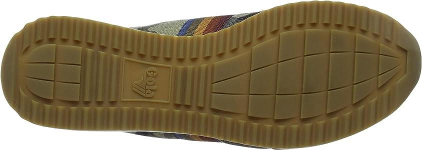 Gola Montreal Camo, Zapatillas para Hombre, Verde (Dark Khaki/Black NB), 42 EU: Amazon.es: Zapatos y complementos