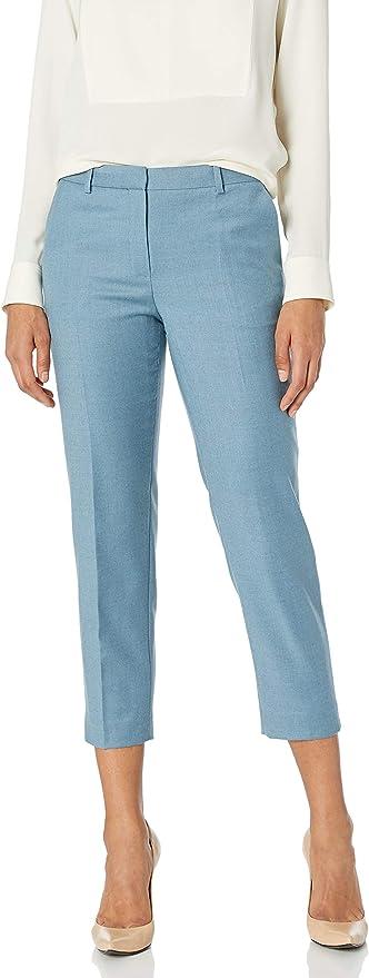 Theory 希尔瑞 Tailor 全羊毛 女式八分西装裤 J0801203 S码2.8折$99.66 海淘转运到手约¥736 国内¥3600