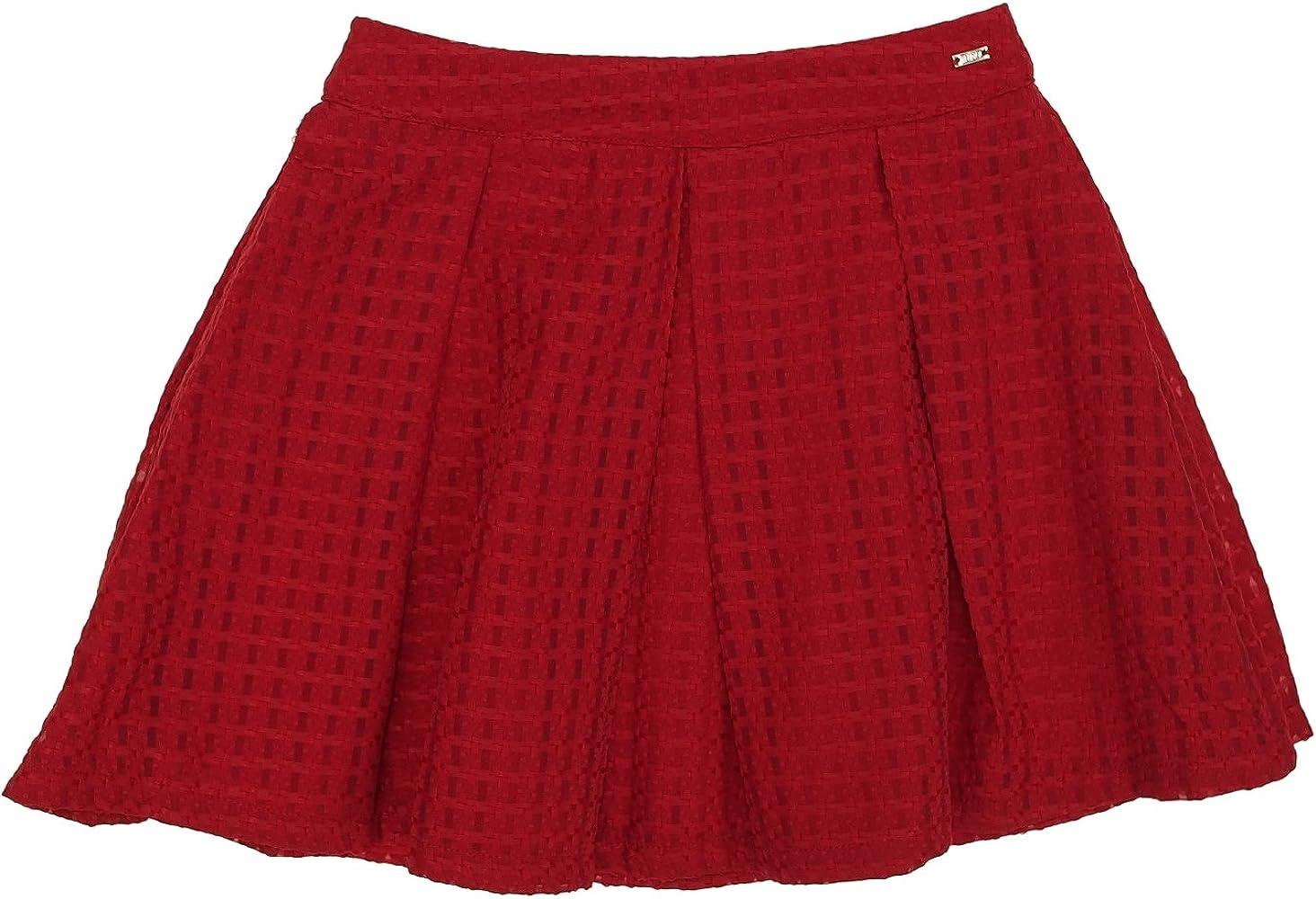 Mayoral 28-06904-036 - Falda para niña 14 años Rojo: Amazon.es ...
