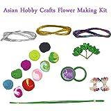 Asian Hobby Crafts Flower Making Kit